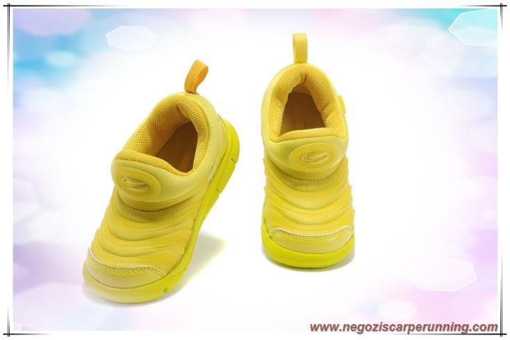 "Nike Dynamo Free ""Caterpillars"" 343938-770 Travel Giallo / Midas Oro Bambini palloni da calcio"