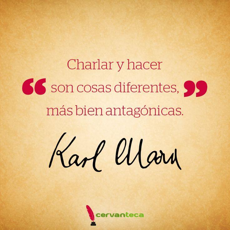 Carlos Marx #Frase #Cita