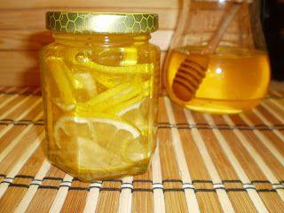 Mariannkonyha: Gyömbéres-citromos méz  - megfázásra,  immunerősít...