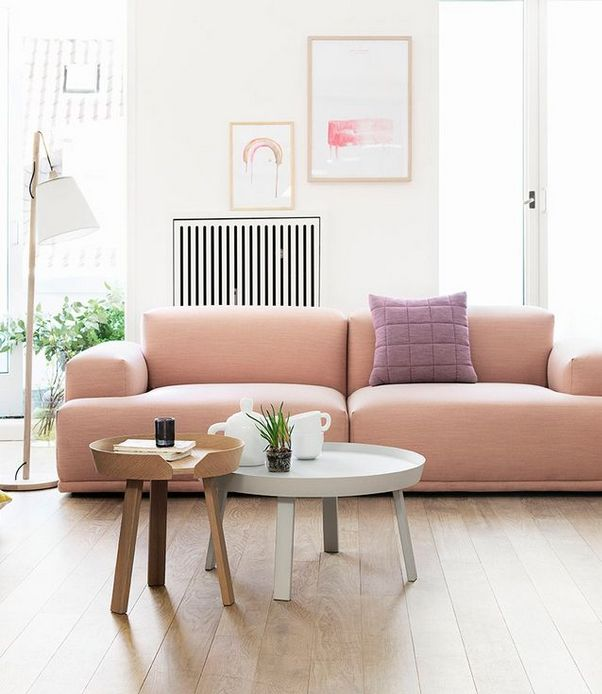 TREND SCOUT: the soft pink sofa + 10 of the best