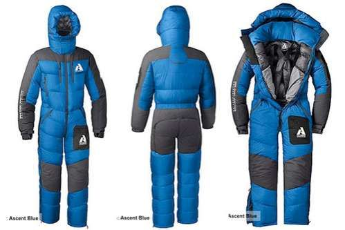 First Ascent Peak XV Snow Suit Fights the Cold Like No Other #sleepingbags #camping trendhunter.com