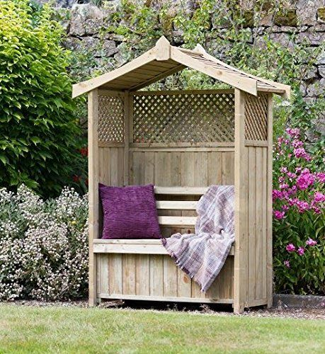 Under seat storage. Trellis detailing. Weather protection. Pressure treated to be Long lasting with guarantee - for garden and patio. plants from zion http://www.amazon.co.uk/dp/B00T7RCA8C/ref=cm_sw_r_pi_dp_LD2owb12TKGQQ