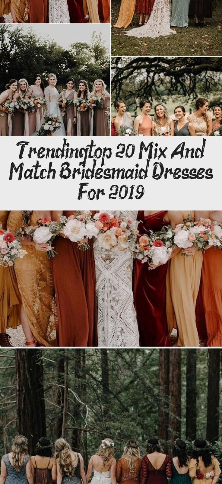 trending mix and match bridesmaid dresses for fall weddings #BridesmaidDressesBlue #MixAndMatchBridesmaidDresses #CheapBridesmaidDresses #BridesmaidDressesWithSleeves #BridesmaidDressesCountry