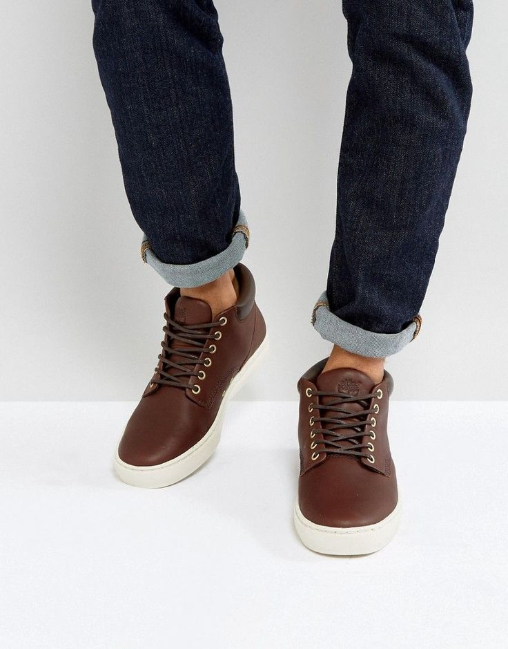 TIMBERLAND ADVENTURE CUPSOLE CHUKKA BOOTS - BROWN. #timberland #shoes #