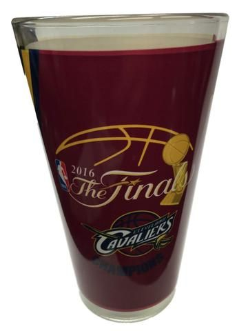 Cleveland Cavaliers 2016 NBA Champions Game Scores Sublimated Pint Glass (16oz)