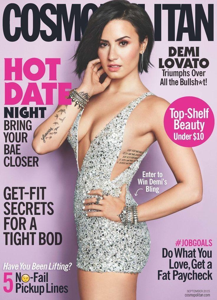 Demi Lovato pour « Cosmopolitan US ».