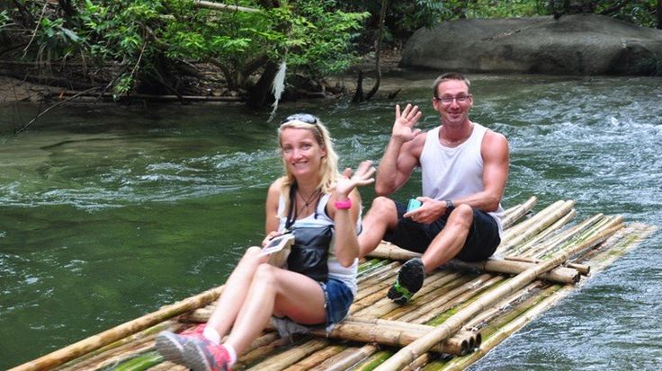 Khao Lak Safari Bamboo Rafting and Elephant Riding
