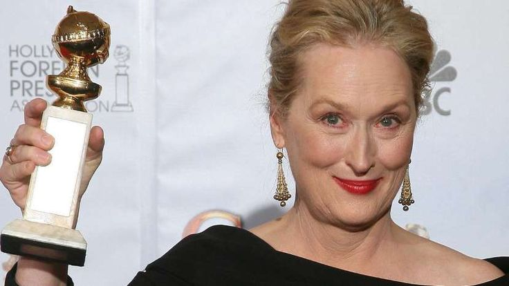 Meryl Streep has the most Golden Globe nominations of any actor in history.