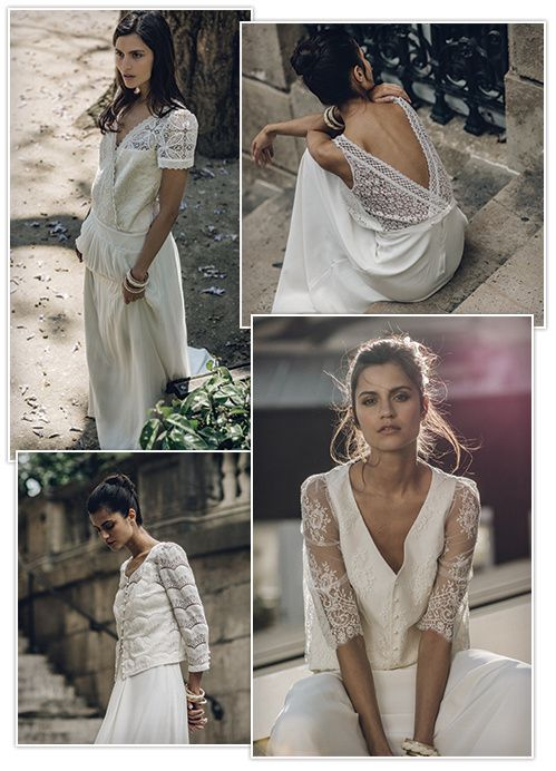 Laure de Sagazan dévoile sa nouvelle collection de robes de mariée 2016 | Vogue