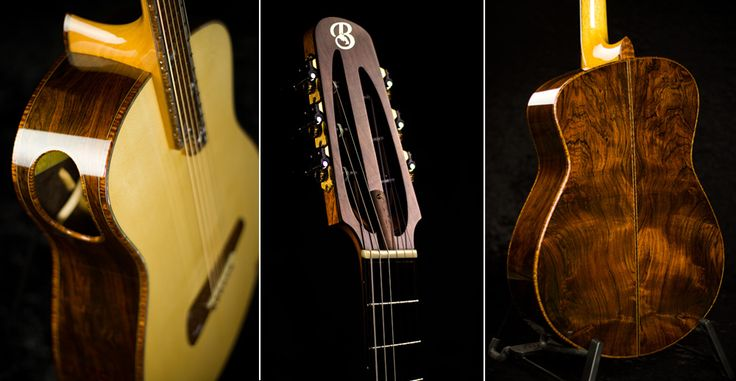 Fine tuning your life -Tom bills makes world class, custom made guitars, each made with the heart felt care