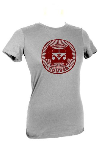 Another one of our great Vancouver Tshirts - Designed locally by Grace Moyer