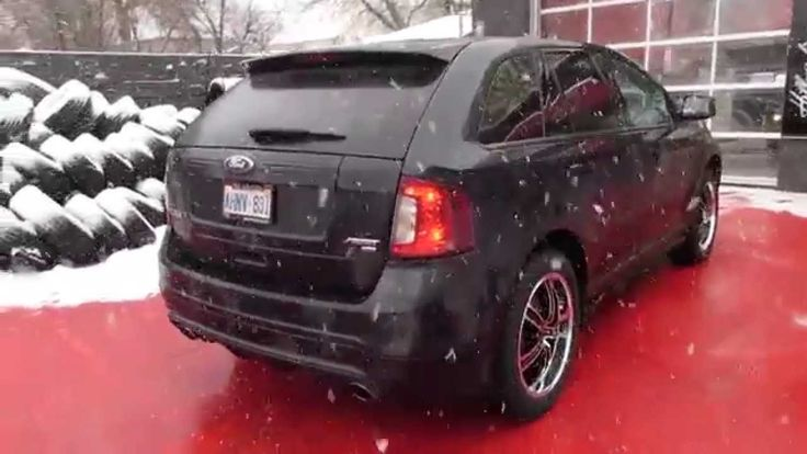 Ford Edge Riding On  Inch Machined Rims And Pirelli Tires With Tpms Installed Correct