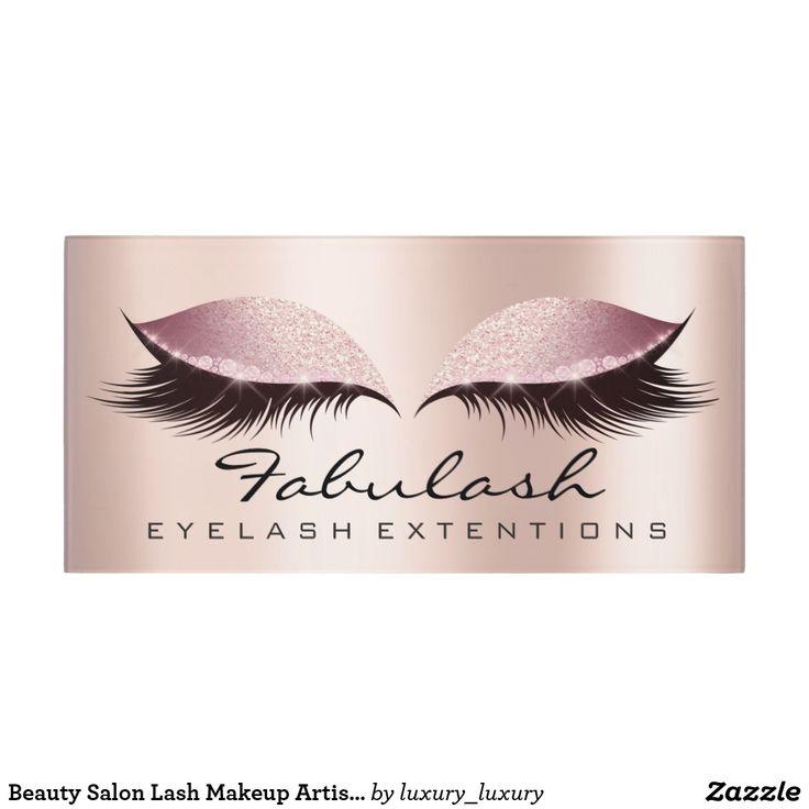 Beauty Salon Lash Makeup Artist Wellness SPA Pink Door Sign