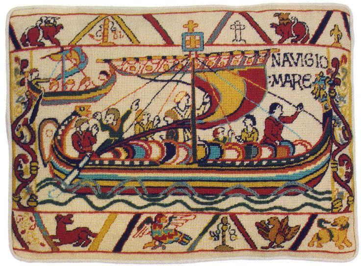 Best bayeux tapestry images on pinterest embroidery
