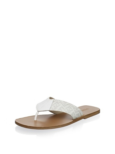53% OFF Fendi Men's Flip Flop (Bianco)