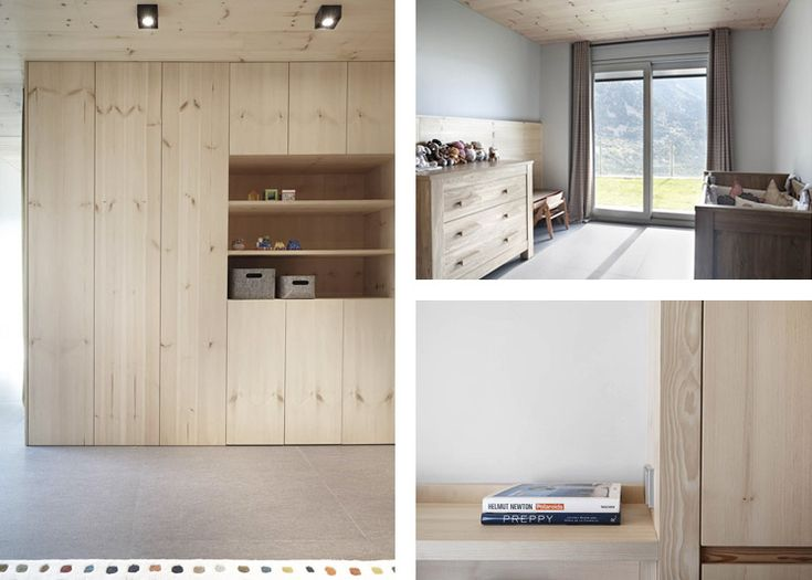 Coblonal architecture a home tribute to pale timber for Ikea scaffali ivar
