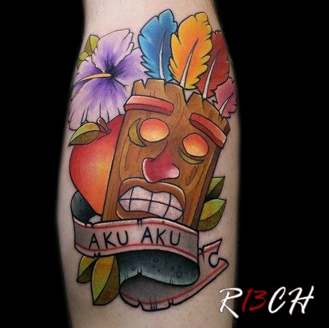 232 best images about tattoos on pinterest traditional for Crash bandicoot tattoo