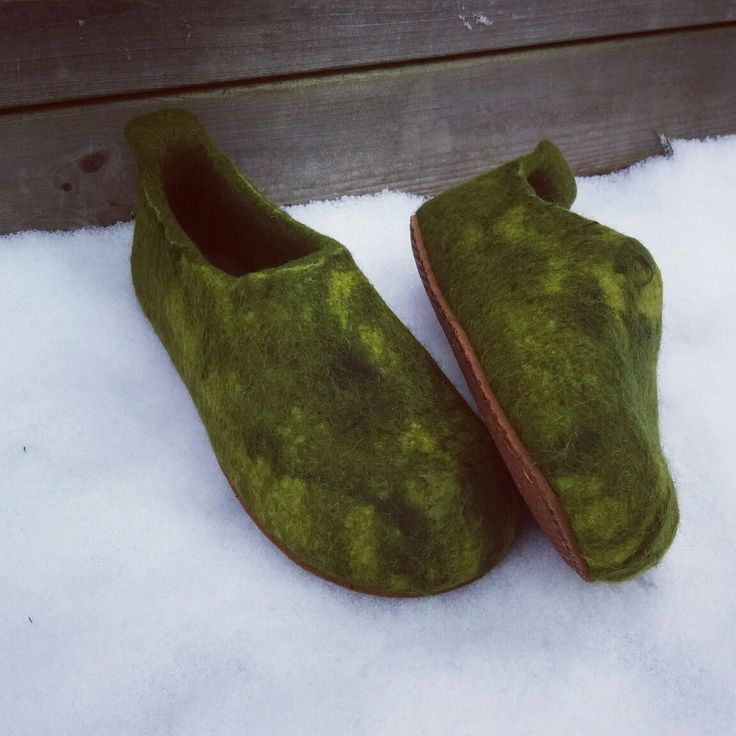 wet felted wool slippers MEŽA NORA www.pamana.lv