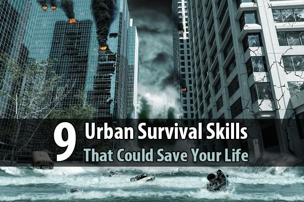 If you live in the city, these urban survival skills could literally save your life during the next major disaster.