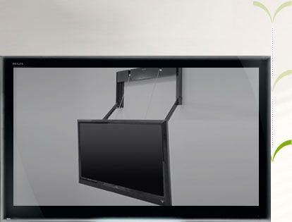 Best 25 motorized tv mount ideas on pinterest motorized for Motorized tv mount over fireplace