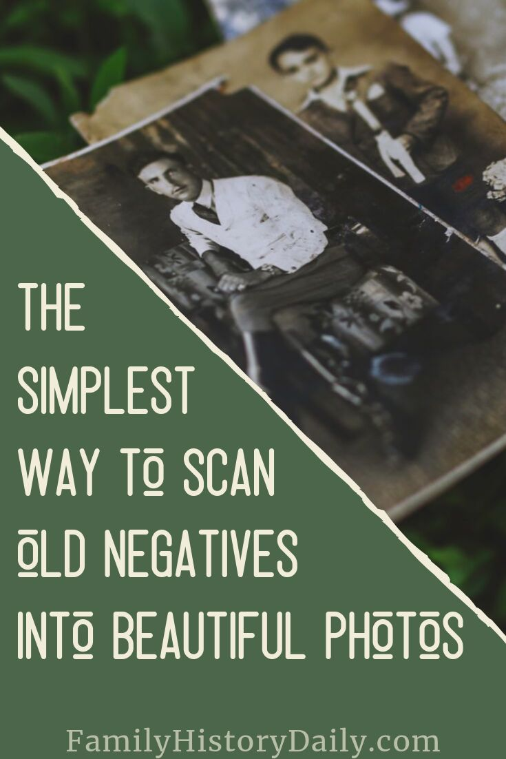 You Can Now Use Your Phone to Turn Old Negatives and Slides Into Photos   Old family photos, Genealogy organization, Genealogy
