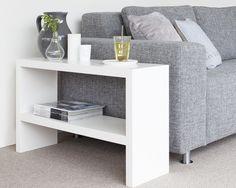 Handige side-table voor naast de bank. Made by - Sander Zwart | Interieur. Nu ook te verkrijgen in de SHOP van welkenl voor  €249,-