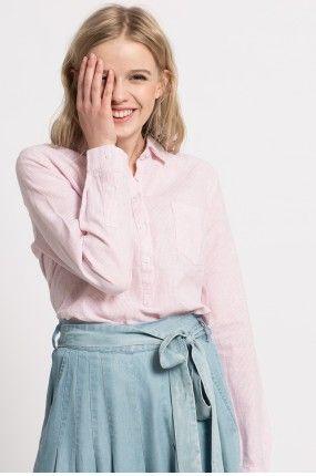 Medicine - Koszula Tea Party kolor pastelowy różowy RS17-KDD070 - oficjalny sklep MEDICINE online
