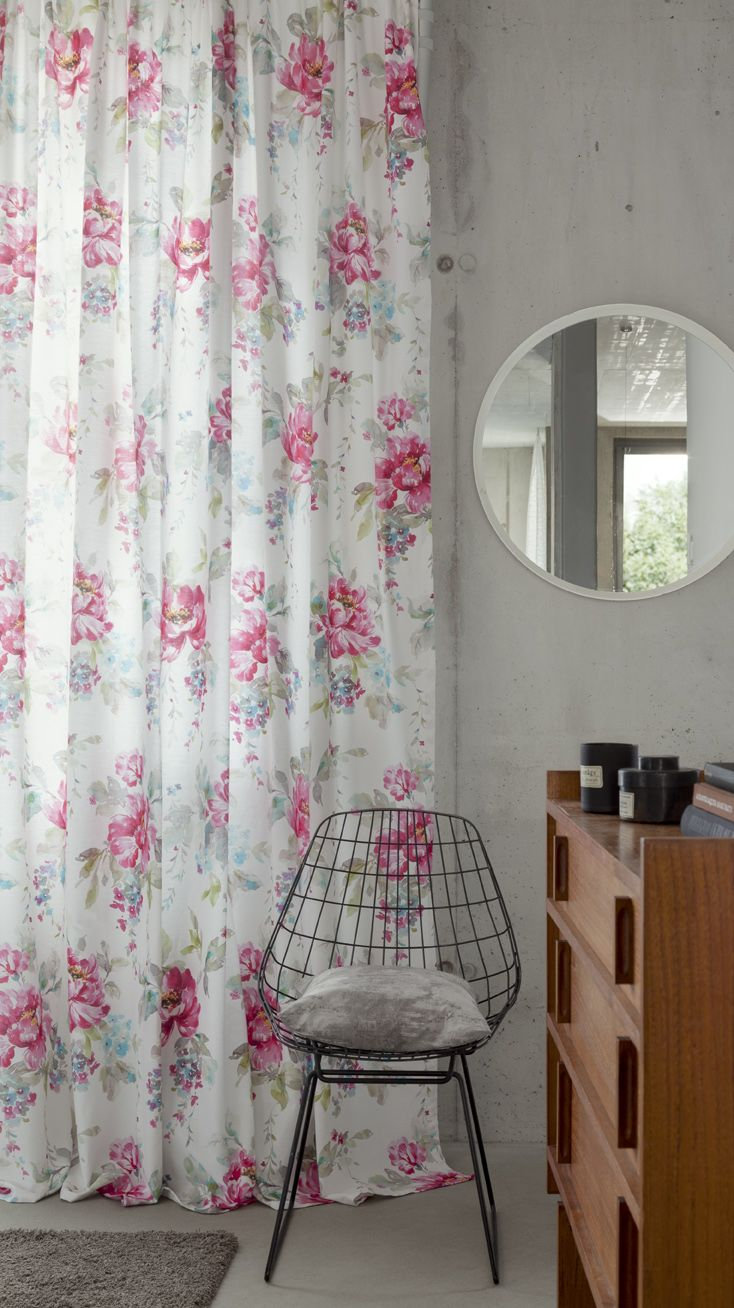 Diana de Rasch Textil | Estampado en 280 cm - Estampat en 280 cm. #flores #flors #ontariofabrics
