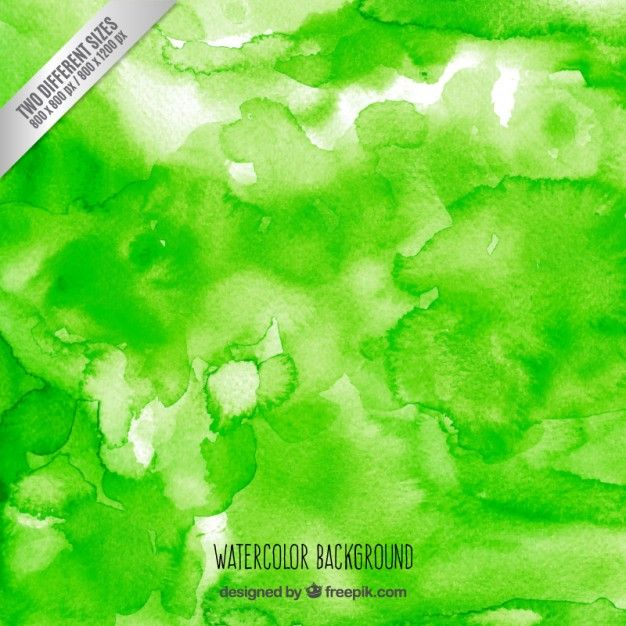 Free vector Green watercolor background #33799