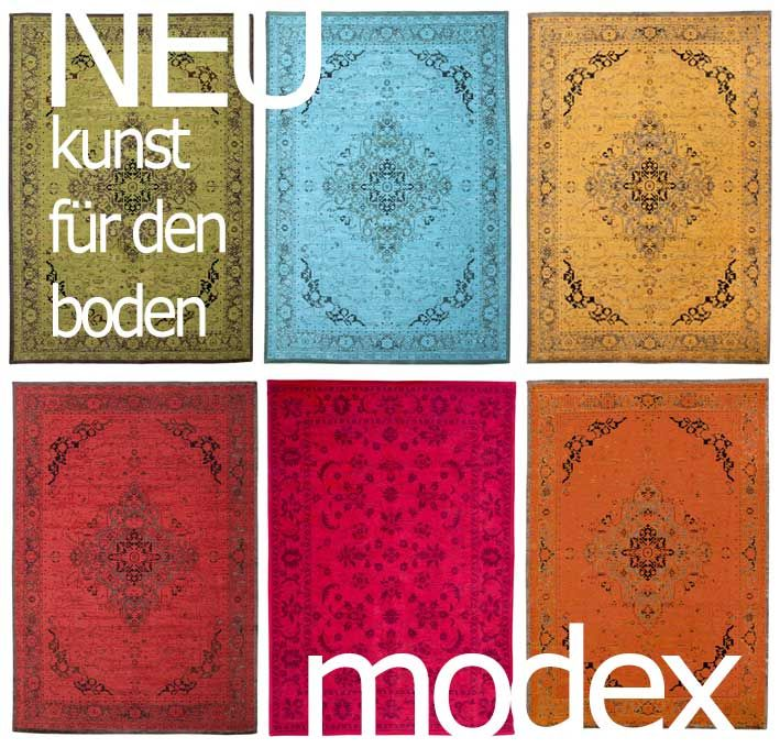 #carpets #teppich #vintage #orient #musterkollektion #modex #rot #türkis