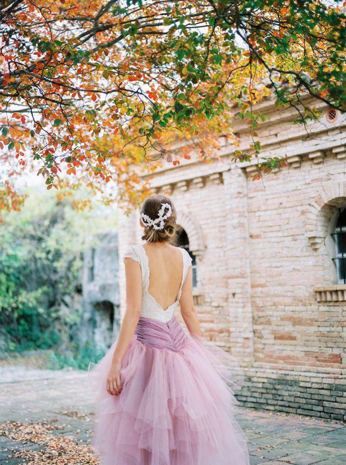 Wedding in Castell de L'Alberg  Pink Christmas Wedding inspiration