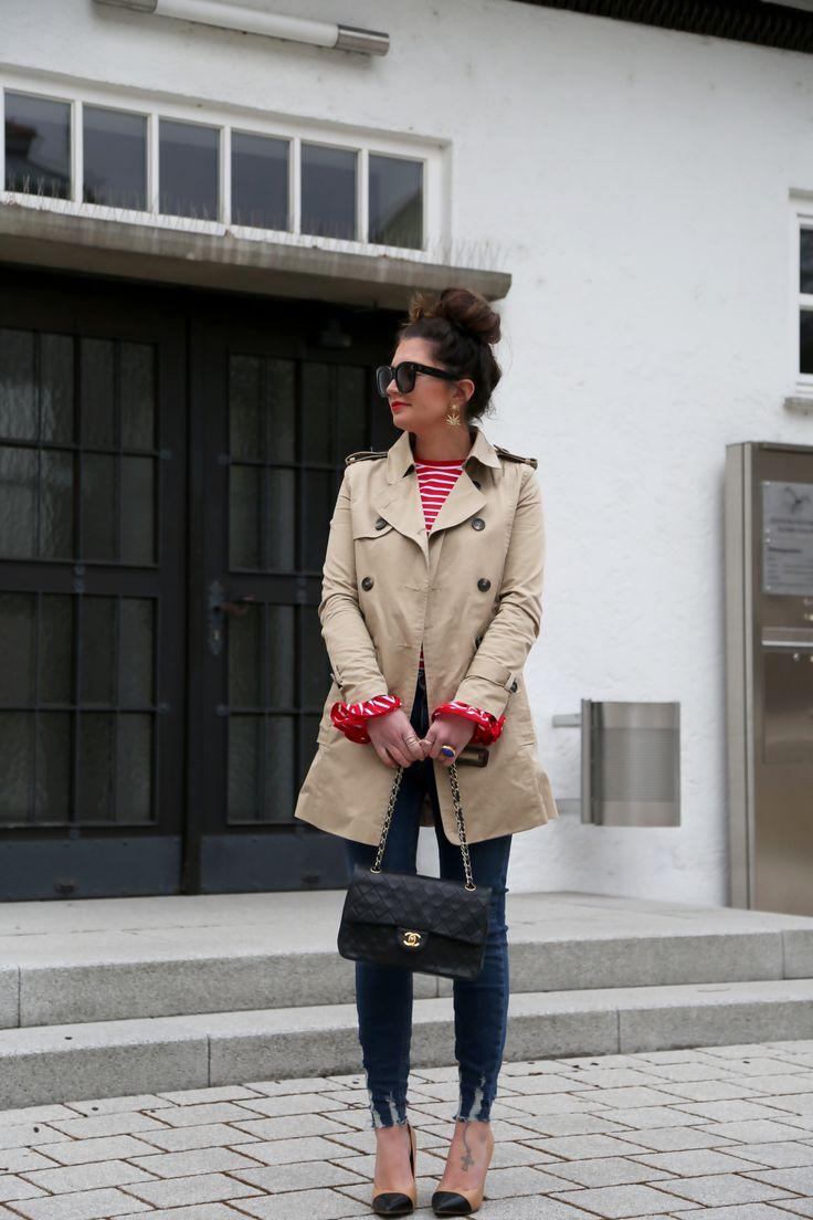 trench coat: Zara (old butsimilar here/here/here) // shirt:Style Mafia(similar here) // jeans:New Look// earrings:Elizabeth Cole(similar here) // bag:Chanel(similar here) // pumps: Zara (similar here/here/here) // sunglasses:Céline(similar here) // ring: YSL trench coat: Zara (old but similar here/here/here) // shirt: Style Mafia(similar here) // jeans: New Look...