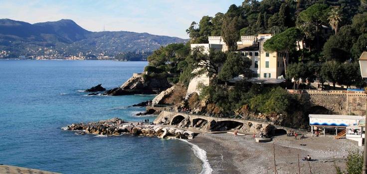 Zoagli, Liguria,Italy