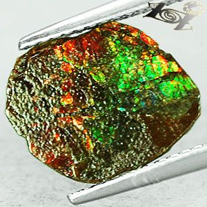 1.55 ct Natural Iridescence Extreme Play Rainbow by MineralKingdom