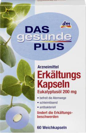 Erkältungs Kapseln Eukalyptusöl 200 mg