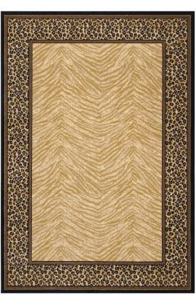 A Traditional Take On Animal Prints Couristan Tanzania Doeskin Find This Pin And More British Colonial Area Rugs