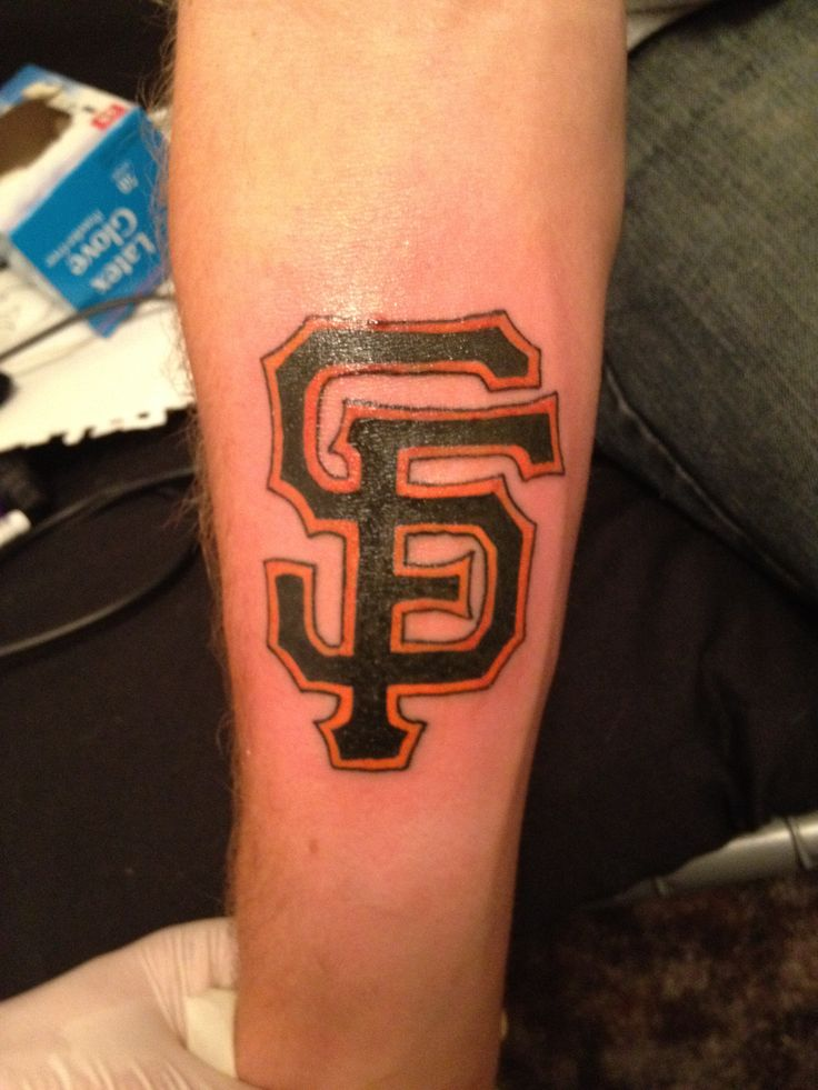 1000 Images About Sf Giants Tattoos On Pinterest