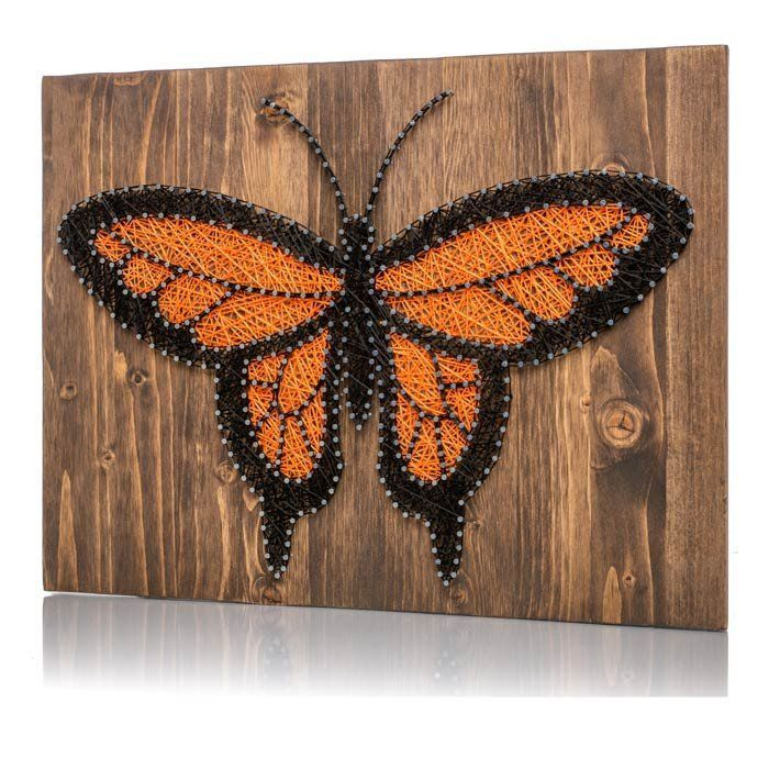 Monarch Butterfly String Art Kit Unique and