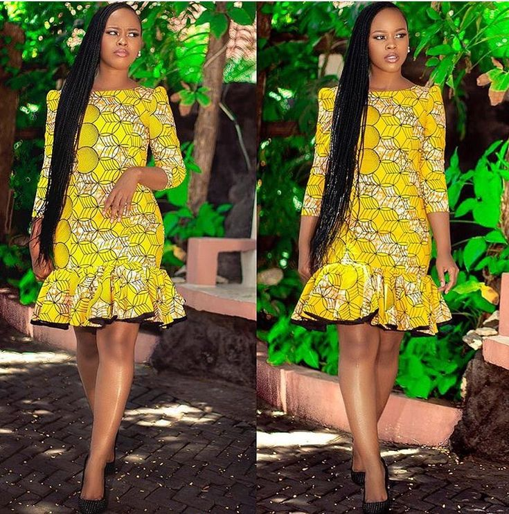 The dress, the hair = gorgeousness #africanbeauty