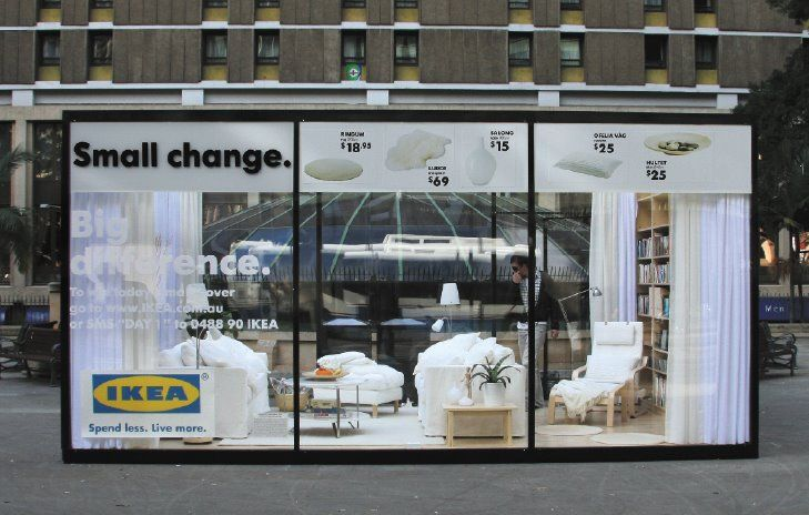 17 best images about ikea on guerilla marketing on pinterest buses the giants and paris. Black Bedroom Furniture Sets. Home Design Ideas