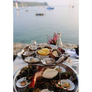The Idle Rocks, St Mawes ...♥♥... Breathtaking Places To Eat In Cornwall