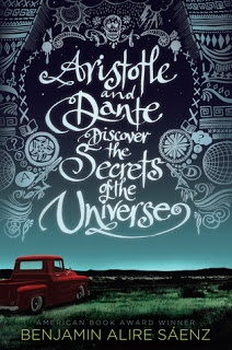 Aristotle and Dante Discover the Secrets of the Universe (Mentor text for: Characterization, Voice, Descriptive, Compare/Contrast, Dialogue, Figurative Language, Vocabulary, Literary Writing):
