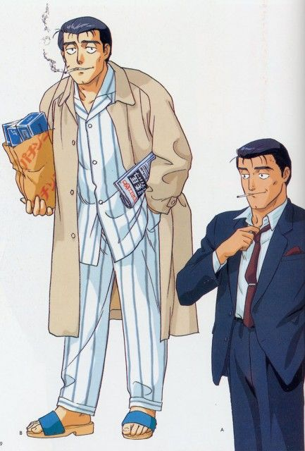 Masami Yuki, Madhouse, Patlabor: The Mobile Police, Kiichi Goto
