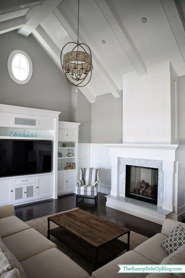 Living Room Tv Wall Units: 40 Unique TV Wall Unit Setup Ideas