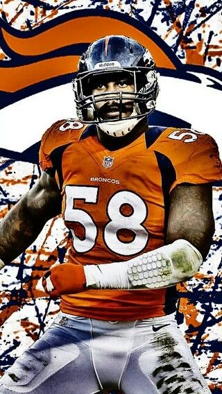"""Listening to Phil Collins, """"In the Air Tonight"""", helps Von Miller prepare for a game."""