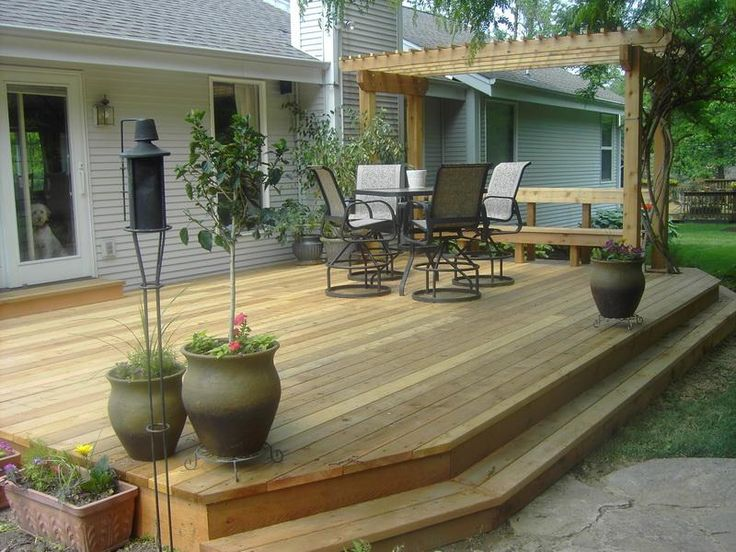 how to build a flat deck