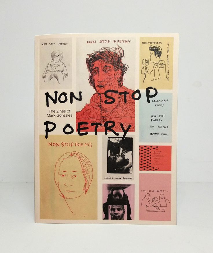 Non Stop Poetry: The Zines of Mark Gonzales
