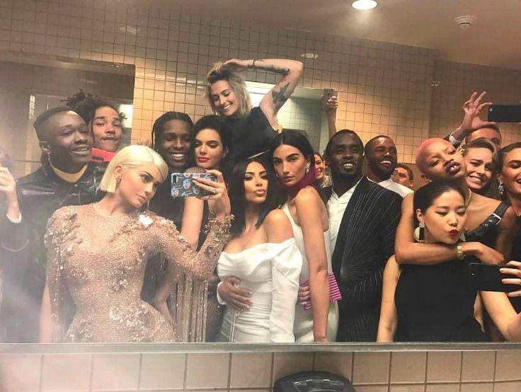 Kylie Jenner - Met Gala 2017 Instagram