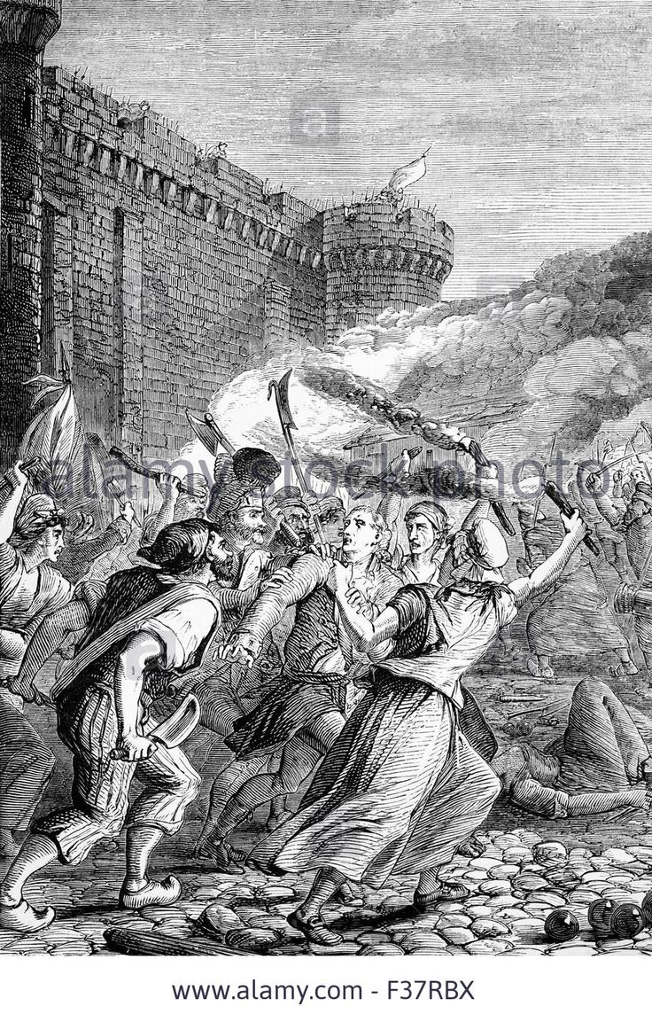 the storming of bastille history