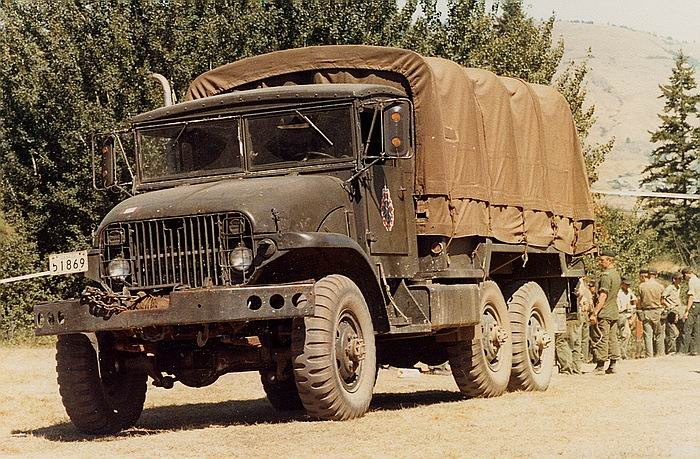 224 The Basic Army Truck The Deuce And A Half Driving